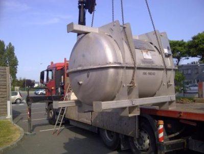 Don materiel TOTAL ext camion 156